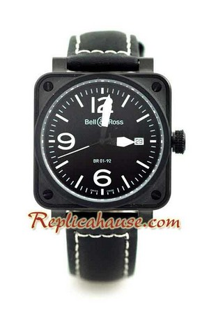 Bell and Ross BR01-92 Limited Edition Swiss Replica Watch 5