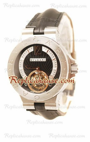 Bvlgari Grandes DIAGONO COMPLICATION tourbillon Replica Watch 02