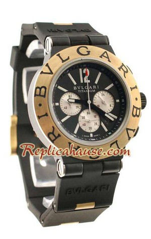 Bvlgari Scuba Swiss Body - Japanese Quartz Movement Replica Watch 05