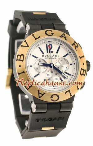 Bvlgari Scuba Swiss Body - Japanese Quartz Movement Replica Watch 06