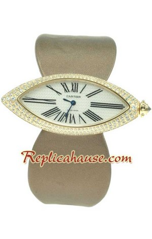 Cartier Swiss Replica Watch Ladies 01