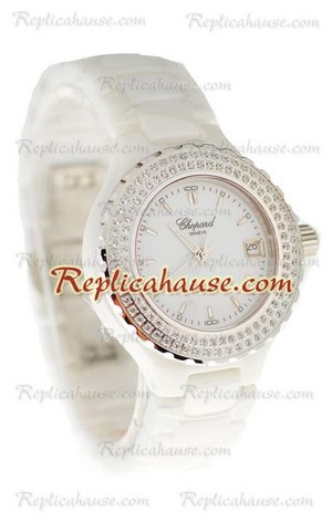 Chopard Happy Sport Ladies Replica Watch 14