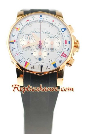 Corum Admirals Cup Chronograph Swiss Watch 05