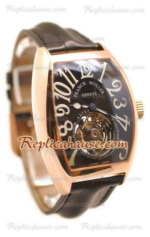 Franck Muller Aeternitas Tourbillon Swiss Replica Watch 06