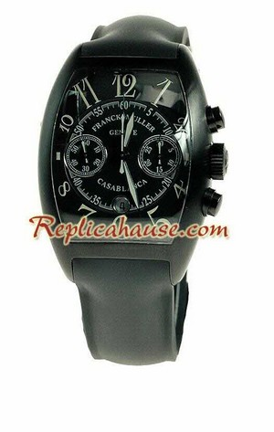 Franck Muller Casablanca Chronograph Swiss Replica Watch 1