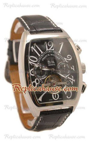 Franck Muller Conquistador Tourbillon Replica Watch 04