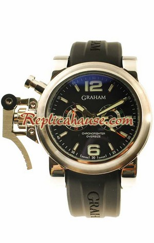 Graham Chronofighter Oversize Diver Replica Watch 03