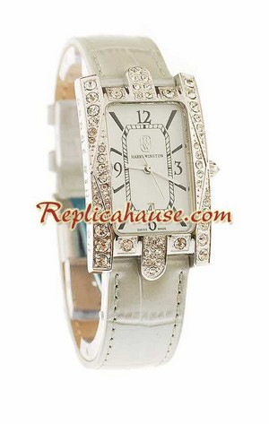 Harry Winston Avenue Classic Swiss Ladies Replica Watch 01