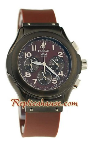 Hublot MDM Chronograph Swiss Replica Watch 40MM - 10