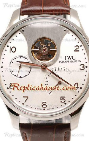 IWC Portuguese Tourbillon Mystere Replica Watch 03