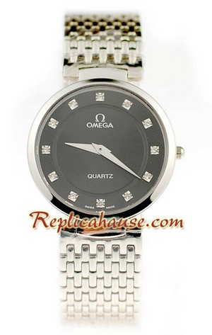 Omega Co-Axial Deville Replica Watch 8