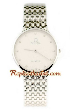 Omega Co-Axial Deville Replica Watch 10