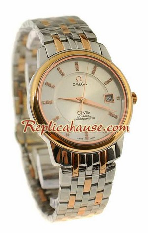 Omega C0-Axial Deville Replica Watch 18