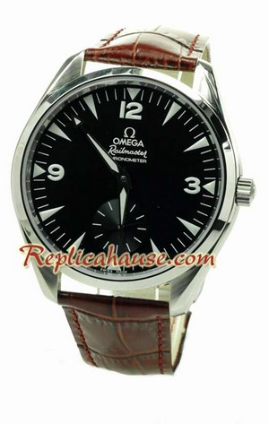 Omega Co-Axial Railmaster Swiss Replica Watch 2