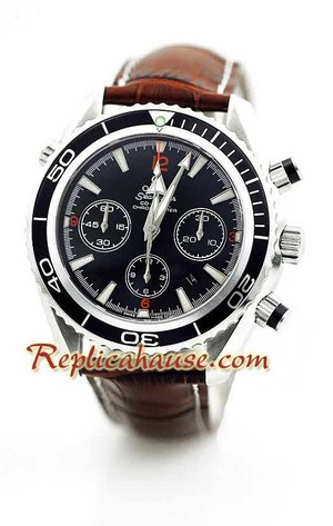 Omega SeaMaster - The Planet Ocean Swiss Watch 6