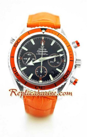 Omega SeaMaster - The Planet Ocean Swiss Watch 5