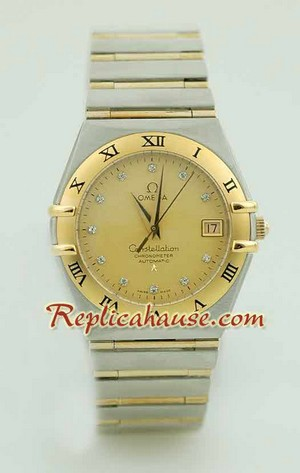 Omega Constellation Swiss Watch - Pure Gold Watch