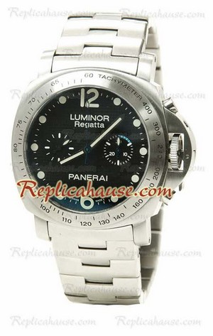 Panerai Luminor Regatta Chronograph Swiss Replica Watch 01