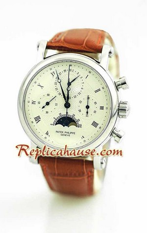 Patek Philippe Grand Complications Swiss Watch 25