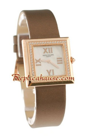 Patek Philippe Ladies Swiss Quartz Watch 02
