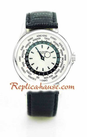 Patek Philippe Worldtime Swiss Watch 2<font color=red>������Ǥ���</font>