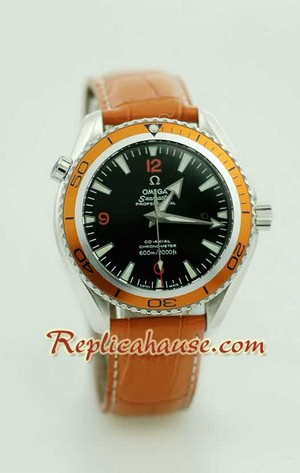 Omega Seamaster - The Planet Ocean Swiss Watch