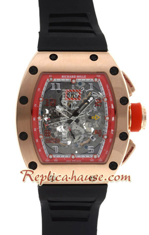 Richard Mille RM011 Automatic Flyback Chronograph Rose Gold 2