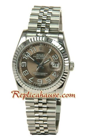 Rolex Replica Datejust Silver Watch 11