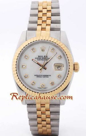 Rolex Replica Datejust two tone Watch 41