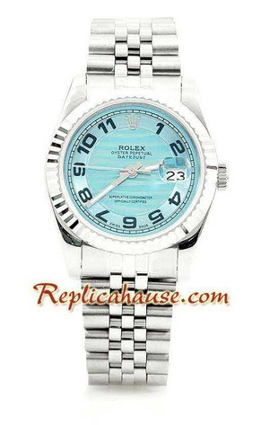 Rolex Replica Datejust Silver Watch 04