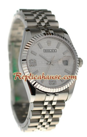 Rolex Replica Datejust Silver Watch 23