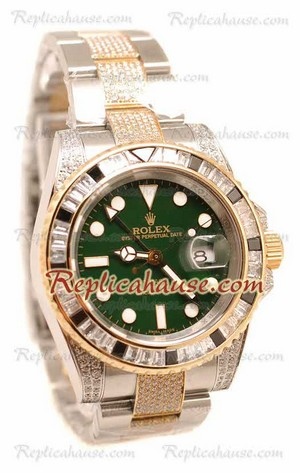 Rolex Replica GMT Masters II Swiss Watch 2010 Edition 22