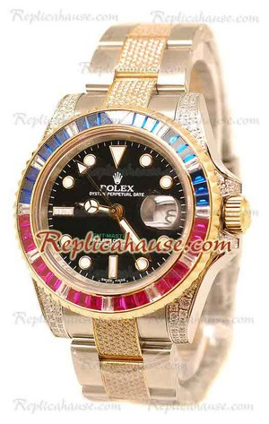 Rolex Replica GMT Masters II Swiss Watch 2010 Edition 23