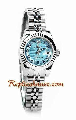 Rolex Replica Datejust Silver Ladies Watch 08