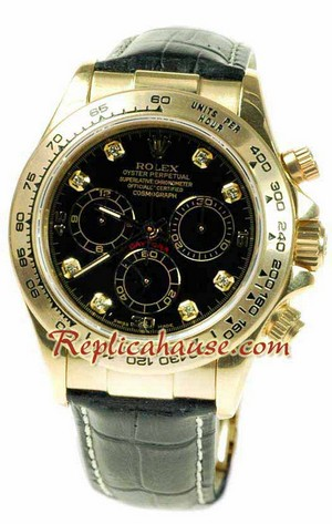 Rolex Replica Daytona Gold Swiss Watch 07