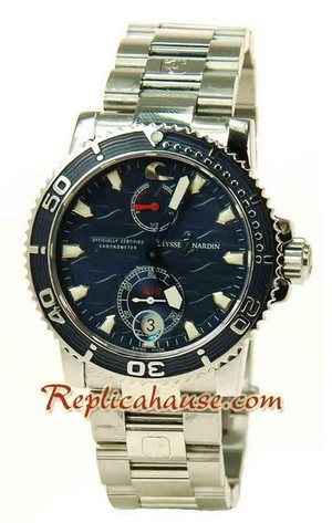 Ulysse Nardin Maxi Marine Chronometer Swiss Replica Watch 02