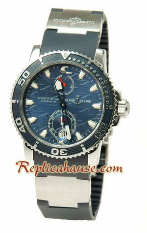Ulysse Nardin Maxi Marine Chronometer Swiss Replica Watch 06