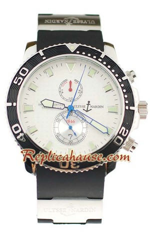 Ulysse Nardin Maxi Marine Chronometer Replica Watch 05