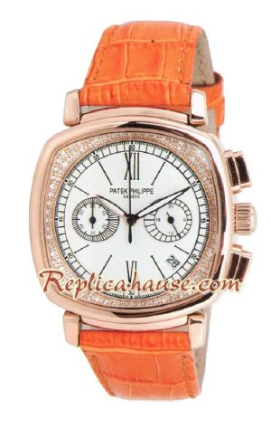 Patek Philippe Ladies Relojes First Chronograph 2012 Watch 04<font color=red>หมดชั่วคราว</font>