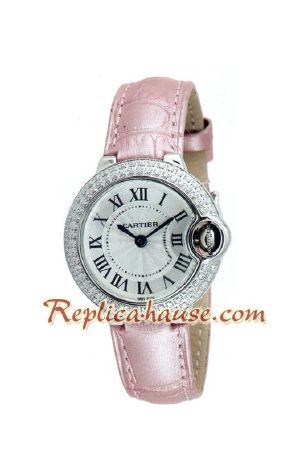 Cartier Ballon Bleu Medium 2012 Lady Watch 2