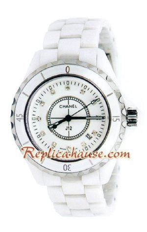 Chanel J12 Authentic Ceramic Watch 3