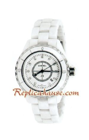 Chanel J12 Authentic Ceramic Lady Watch 3
