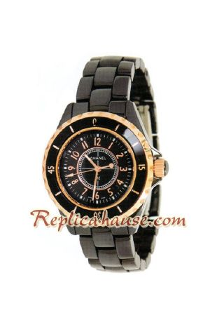 Chanel J12 Authentic Ceramic Lady Watch 11