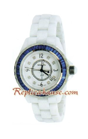 Chanel J12 Jewelry Authentic Ceramic Lady Watch 1