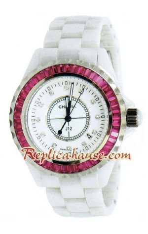 Chanel J12 Jewelry Authentic Ceramic Watch 3
