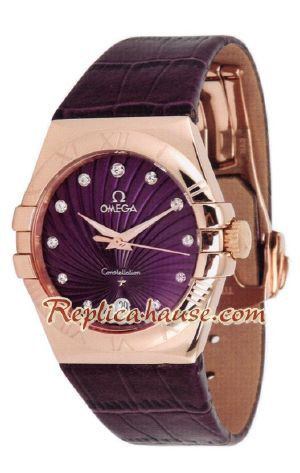 Omega Constellation 2012 Replica Watch Ladies 1<font color=red>หมดชั่วคราว</font>
