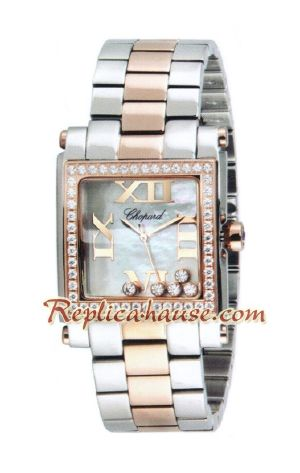 Chopard Ladies Happy Sport 2012 Replica Watch 6