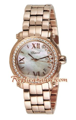 Chopard Ladies Happy Sport 2012 Replica Watch 11