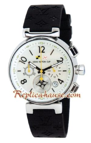 Louis Vuitton Tambour Automatic Chronograph Watch 03