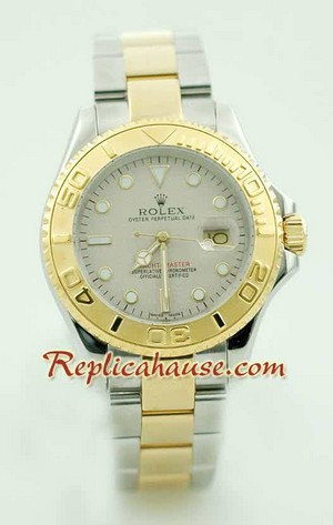 Rolex Yachtmaster Two Tone 4